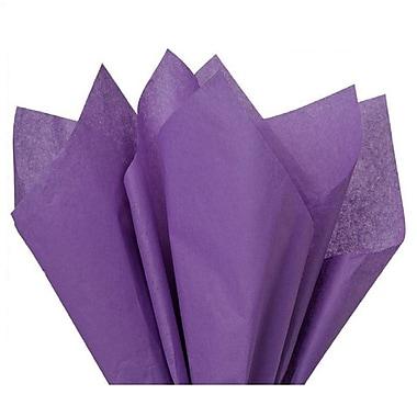 Nashville Wraps – Papier de soie de couleur 20 x 26 po, qualité MF n°1, demi-rames, 100 % recyclé, lavande, paq./240 feuilles