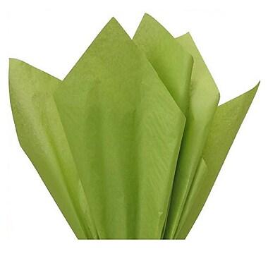 Nashville Wraps – Papier de soie de couleur 20 x 26 po, qualité MF n°1, 100 % recyclé, oasis, paq./48 feuilles