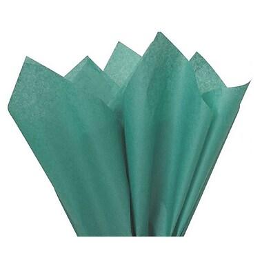 Nashville Wraps – Papier de soie de couleur 20 x 26 po, qualité MF n°1, 100 % recyclé, bleu sarcelle, paq./48 feuilles