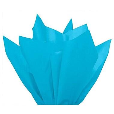 Nashville Wraps – Papier de soie de couleur 20 x 26 po, qualité MF n°1, 100 % recyclé, turquoise, paq./48 feuilles