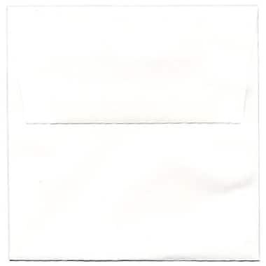 JAM Paper – Enveloppes carrées, 5,5 x 5,5 po, blanc semi-brillant, 100/paquet (02792259b)