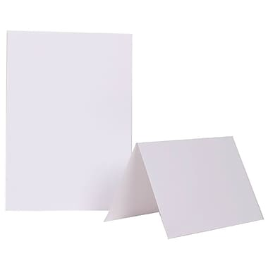 JAM Paper® Blank Foldover Cards, 5