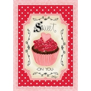 LANG Sweet On You 12x18 Mini Garden Flag (1700018)