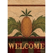 LANG Welcome Pineapple 12x18 Mini Garden Flag (1700022)