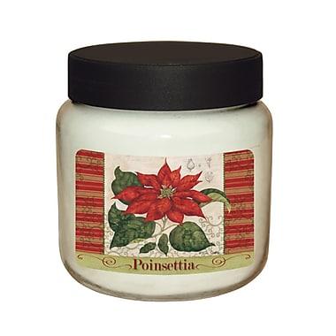 LANG Poinsettia 16 oz Jar Candle (3140002)