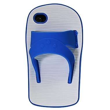 Exian iPhone 4/4s Silicon Sandal Case, Blue