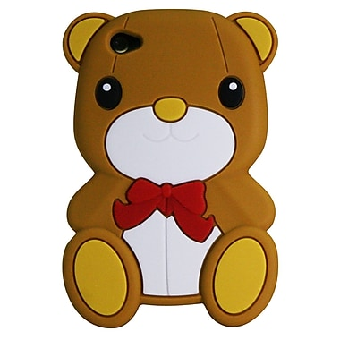 Exian iPhone 4/4s Silicon Case, Teddy Bear
