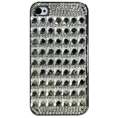 Exian Case for iPhone 4, Crystals Squares