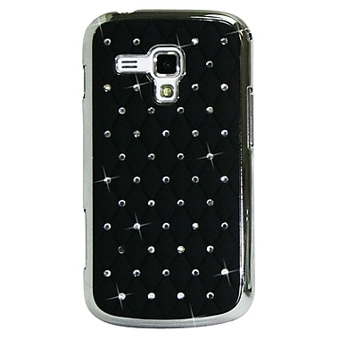 Exian Case for Galaxy Ace 2X, Embedded Crystals Black