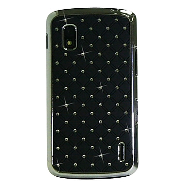 Exian Nexus 4 Case with Embedded Crystals, Black
