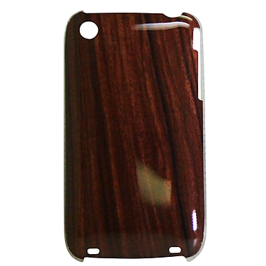 Exian iPhone 3 3Gs Case, Wood Grain Pattern
