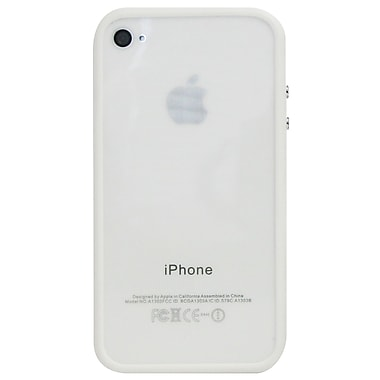 Exian iPhone 4/4s Soft Bumper, White