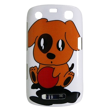 Exian Case for Blackberry Curve 9360, Cartoon Puppy