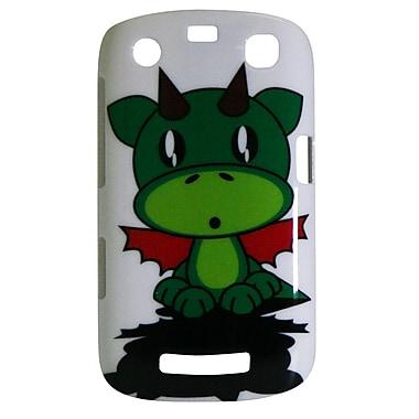 Exian – Étui pour BlackBerry Curve 9360 avec dessin de dragon