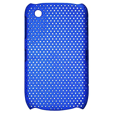 Exian Case for Blackberry Curve 8520, Net Blue