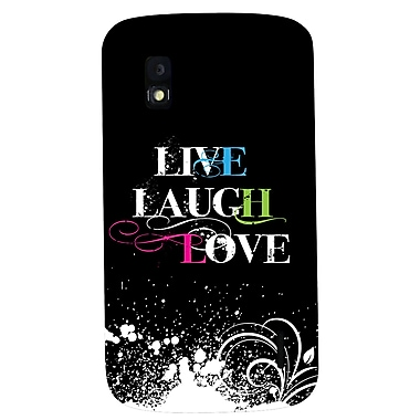 Exian Case for Nexus 4, Live Laugh Love Version 2