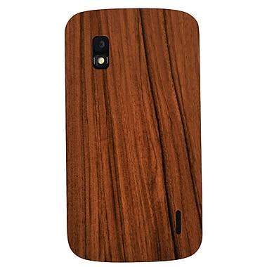 Exian – Étui à motif grain de bois pour Nexus 4