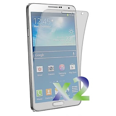 Exian Galaxy Note 3 Screen Protector, 2 Pieces, Clear