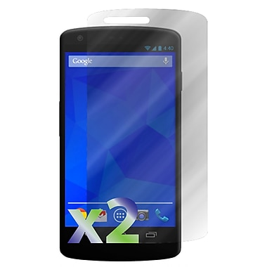 Exian Google Nexus 5 Screen Protector, 2 Pieces, Anti Glare