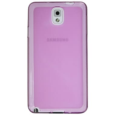 Exian Case for Galaxy Note 3, Frosted Transparent Purple