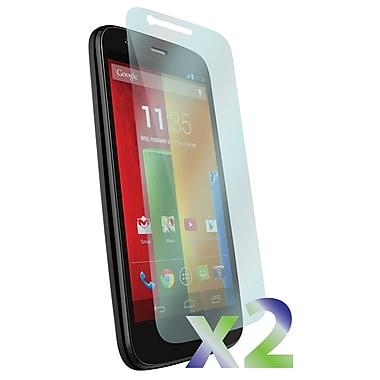 Exian – 2 protecteurs d'écran transparents pour Motorola Moto G