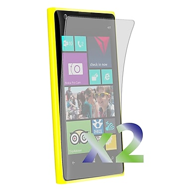 Exian Nokia Lumia 1020 Screen Protector, 2 Pieces, Clear