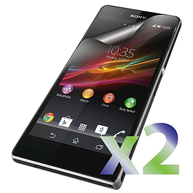 Exian Sony Xperia Z1 Screen Protectors, 2 Pieces