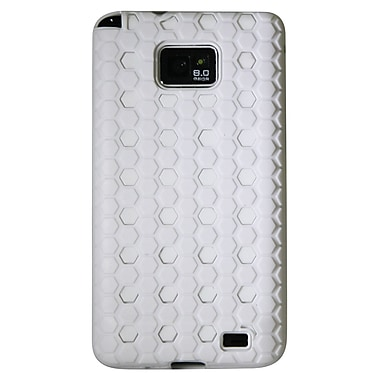 Exian Case for Galaxy S2, Protective Dotted Pattern White