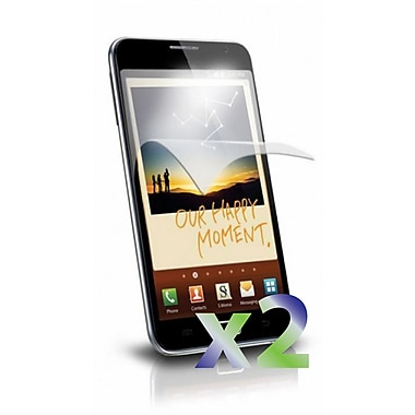 Exian Galaxy Note Screen Protector, 2 Pieces, Clear