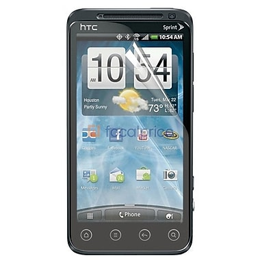 Exian HTC Evo 3D Screen Protector, 2 Pieces, Anti Glare