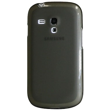 Exian – Étui pour Galaxy S3, gris transparent givré