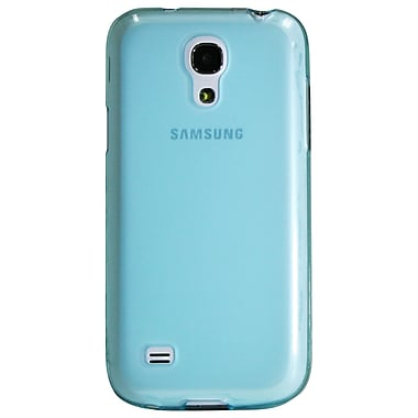 Exian Case for Galaxy S4 Mini, Transparent Blue