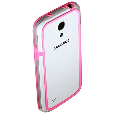 Exian Case for Galaxy S4 Mini, Bumper Pink