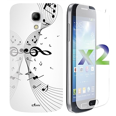 Exian Cases for Galaxy S4 Mini, Musical Notes