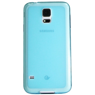 Exian Case for Galaxy S5, Frosted Transparent Blue