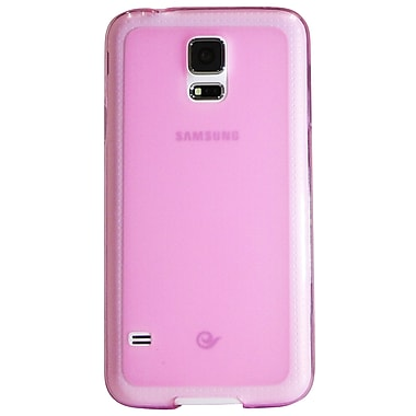 Exian Case for Galaxy S5, Frosted Transparent Purple