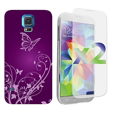 Exian Cases for Galaxy S5, Butterflies & Flowers