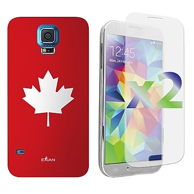 Exian Case for Galaxy S5, Maple Leaf