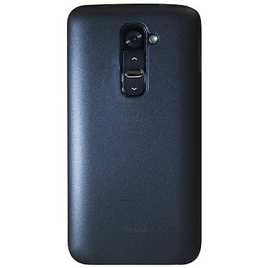 Exian LG G2 TPU Case, Slim Frosted Transparent Grey