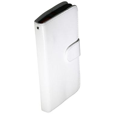 Exian – Étui portefeuille en cuir pour le Lumia 920 de Nokia, blanc