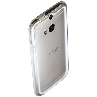 Exian Case for HTC One M8, Bumper White