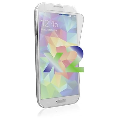 Exian Galaxy S5 Screen Protector, 2 Pieces, Clear
