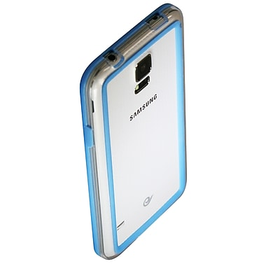 ExianMD – Étui pare-chocs pour Galaxy S5, bleu