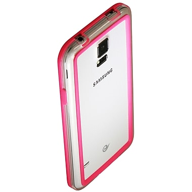 Exian Case for Galaxy S5, Bumper Pink