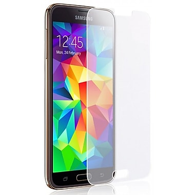Exian Galaxy S5 Tempered Glass Screen Protector, Clear