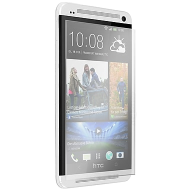 Exian HTC One M7 Tempered Glass Screen Protector, Clear