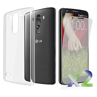 Exian LG G3 Transparent Case, Clear