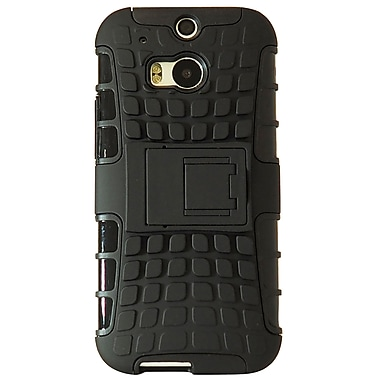Exian Case for HTC One M8, Armored with Stand