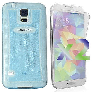 Exian Cases for Galaxy S5, Transparent Sparkling