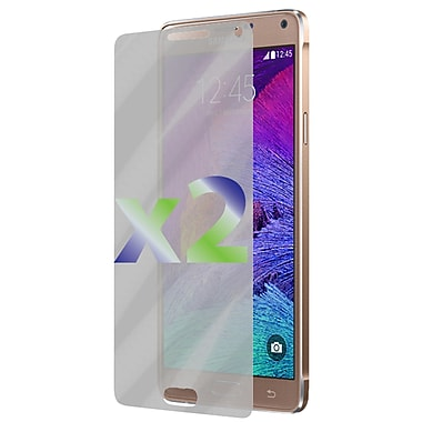 Exian Galaxy Note 4 Screen Protector, 2 Pieces, Clear